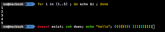 Zsh syntax highlighting
